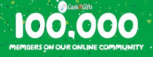100000 Member Giveaway