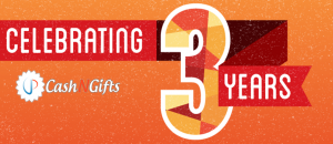 CashNGifts completes 3 years
