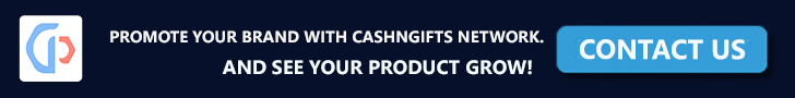 Place Advertisement on CashNGifts